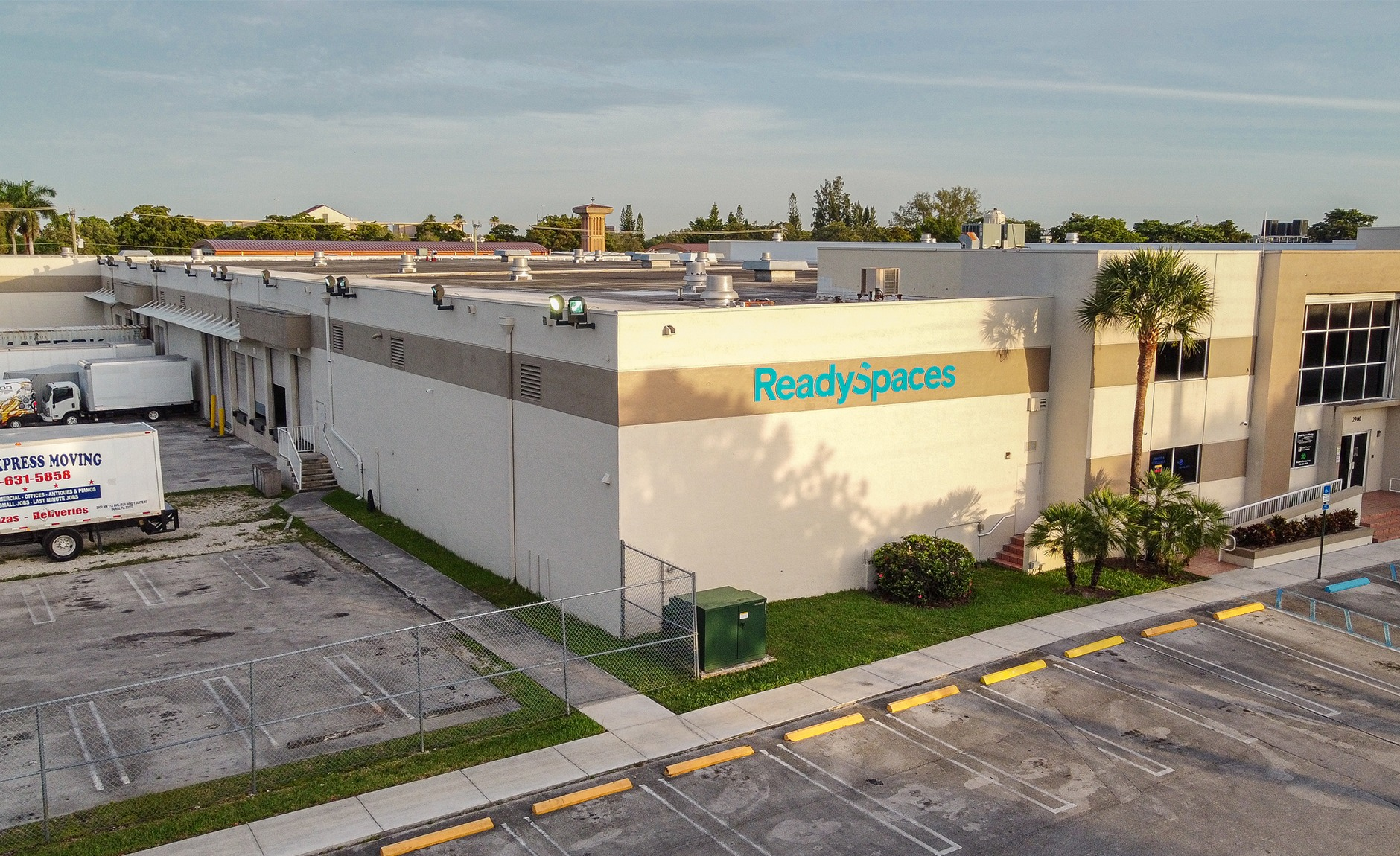 doral shared warehouse space for lease
