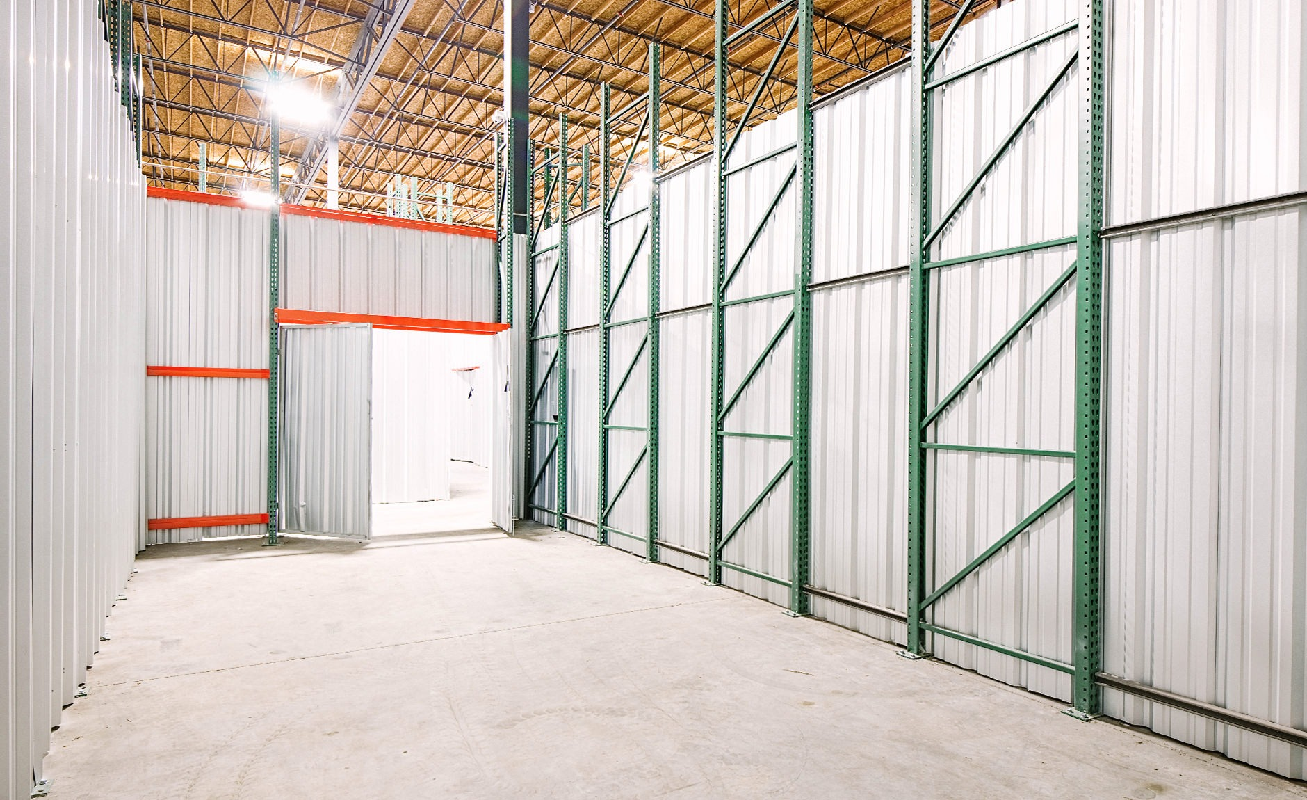 industrial storage space